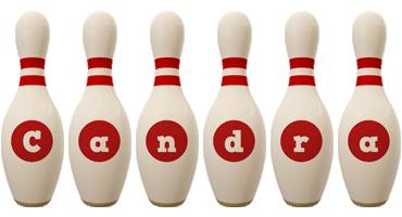 Candra bowling-pin logo