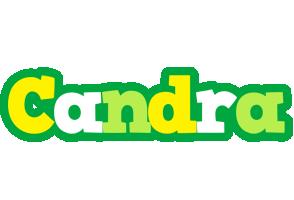 Candra soccer logo