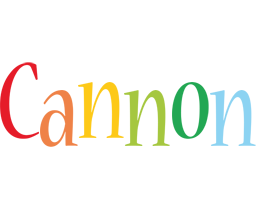 Cannon birthday logo