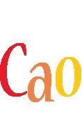 Cao birthday logo