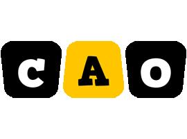 Cao boots logo