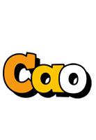Cao cartoon logo