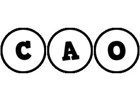Cao handy logo