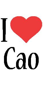 Cao i-love logo