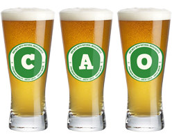 Cao lager logo