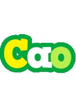 Cao soccer logo