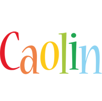 Caolin birthday logo