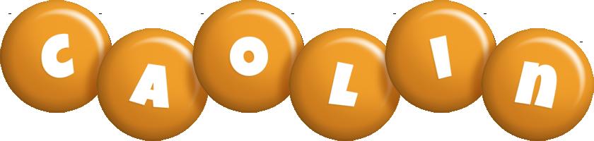 Caolin candy-orange logo