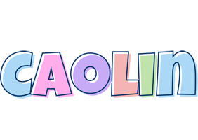 Caolin pastel logo