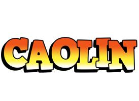 Caolin sunset logo