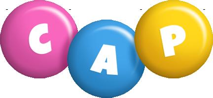 Cap candy logo