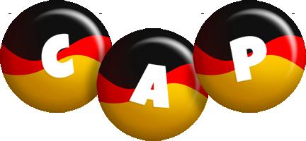 Cap german logo