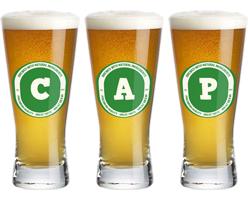 Cap lager logo