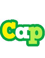 Cap soccer logo
