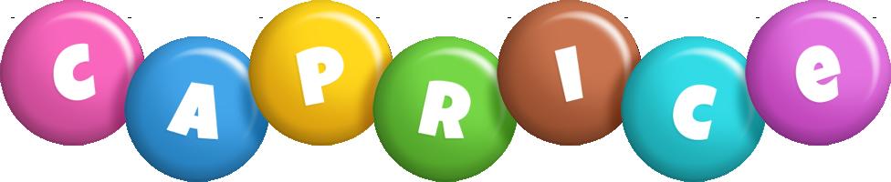 Caprice candy logo