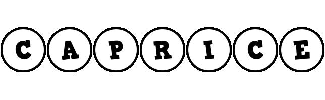 Caprice handy logo