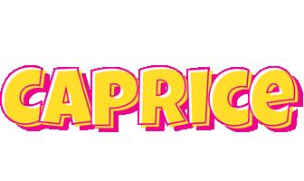 Caprice kaboom logo