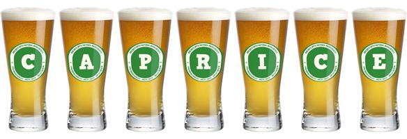 Caprice lager logo