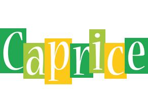 Caprice lemonade logo