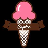Caprice premium logo