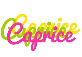 Caprice sweets logo