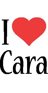 Cara i-love logo