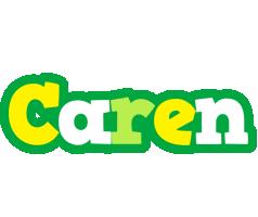 Caren soccer logo