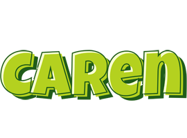 Caren summer logo