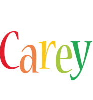 Carey birthday logo
