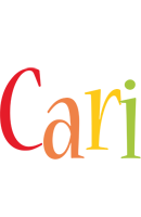 Cari birthday logo