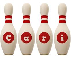 Cari bowling-pin logo