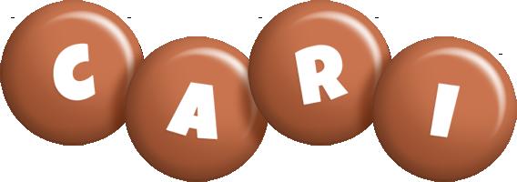 Cari candy-brown logo