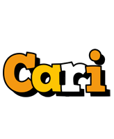 Cari cartoon logo