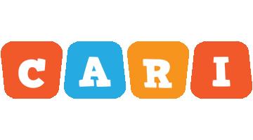 Cari comics logo