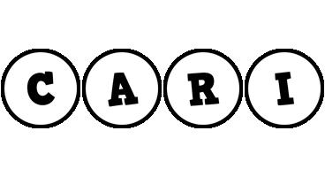Cari handy logo