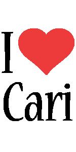Cari i-love logo