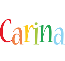Carina birthday logo