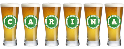 Carina lager logo