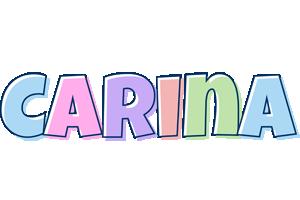Carina pastel logo