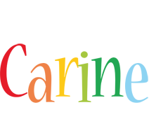Carine birthday logo