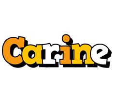 Carine cartoon logo
