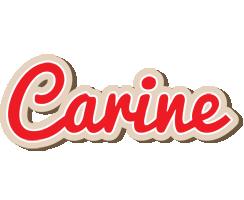 Carine chocolate logo