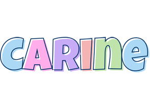 Carine pastel logo