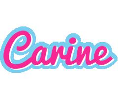Carine popstar logo