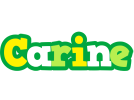Carine soccer logo