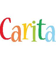 Carita birthday logo