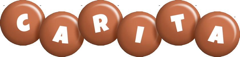 Carita candy-brown logo