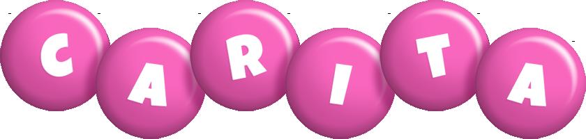 Carita candy-pink logo