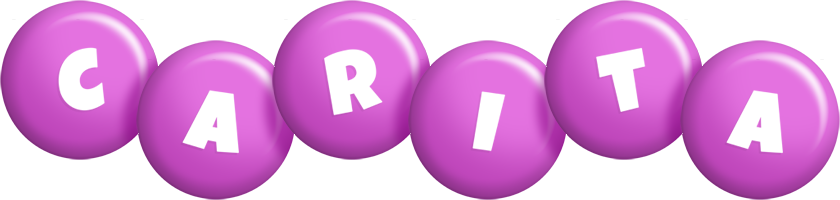 Carita candy-purple logo