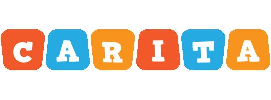 Carita comics logo
